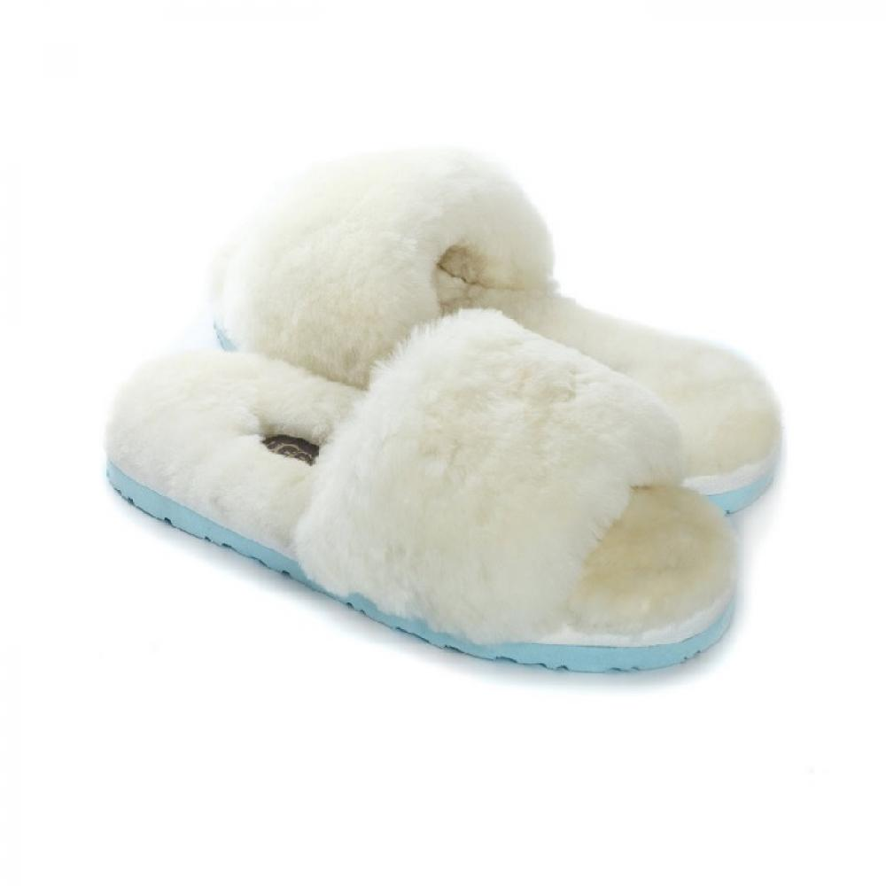 Ugg Fluff Slide Slippers Тапочки - image 1 of 5