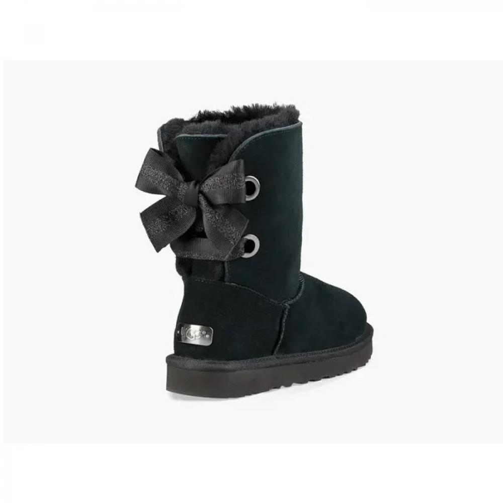 Customizable Bailey Bow Short Boot Угги - image 4 of 6