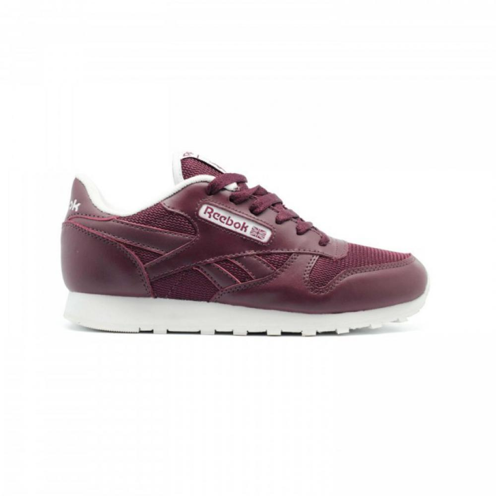 Кроссовки Reebok Classic Leather Bordeux - image 1 of 3