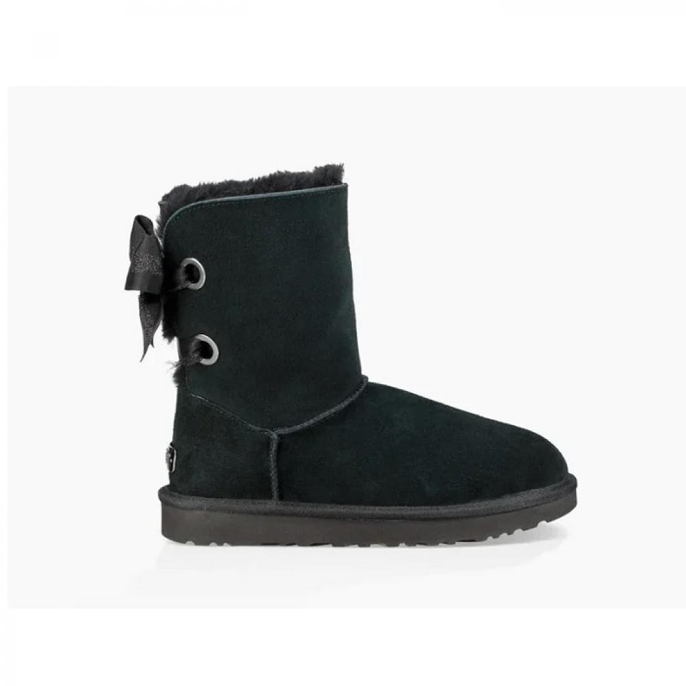 Customizable Bailey Bow Short Boot Угги - image 1 of 6
