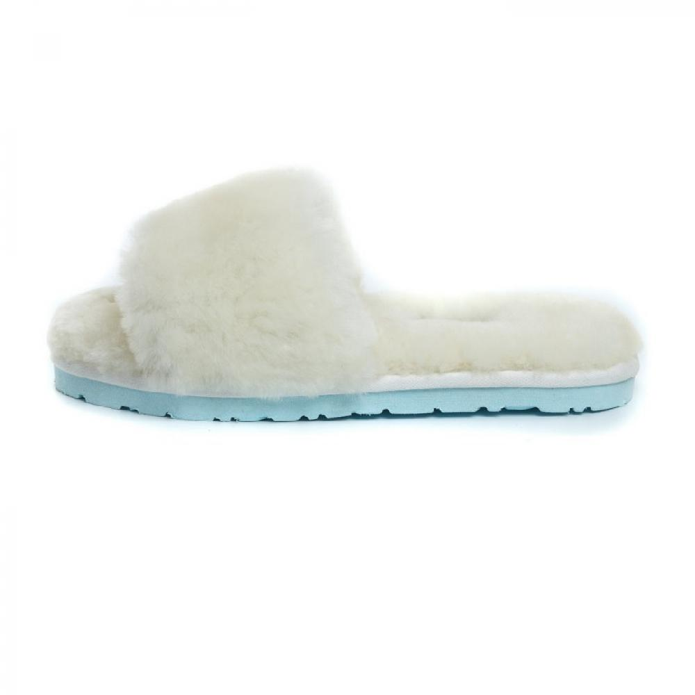 Ugg Fluff Slide Slippers Тапочки - image 2 of 5