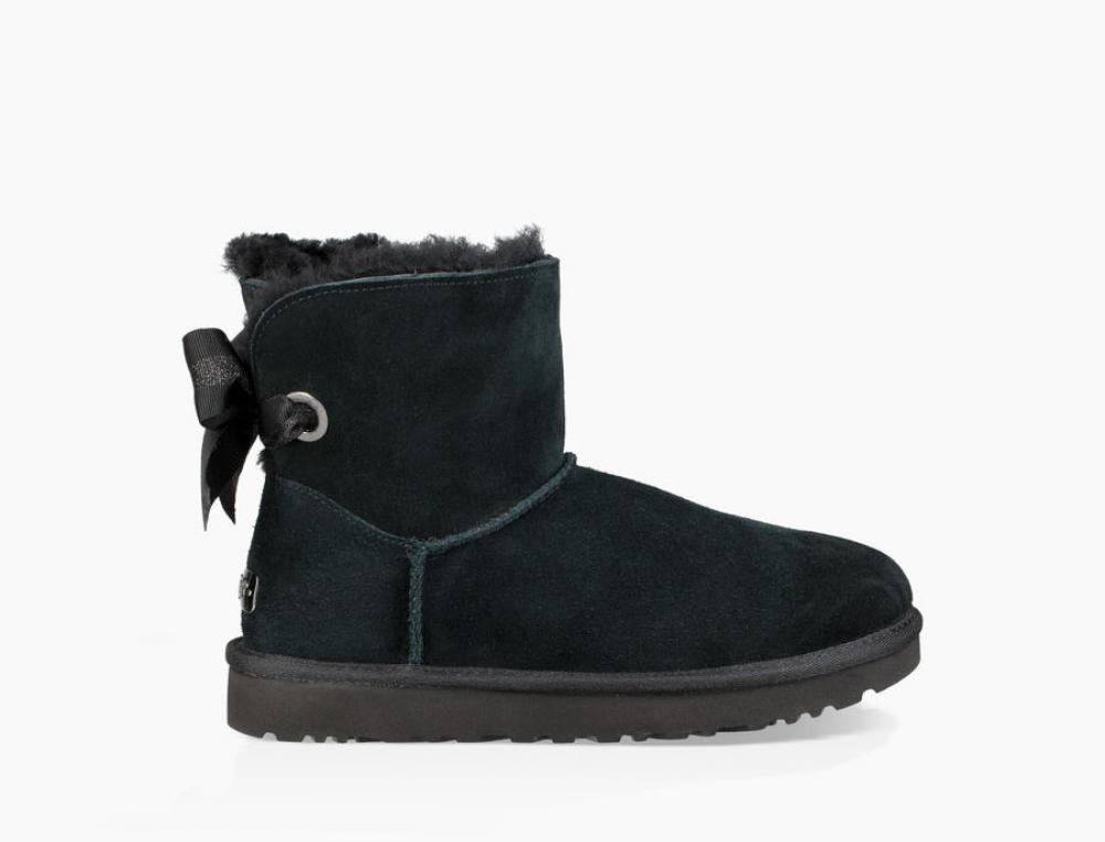 Customizable Bailey Bow Mini Boot Угги - image 1 of 6