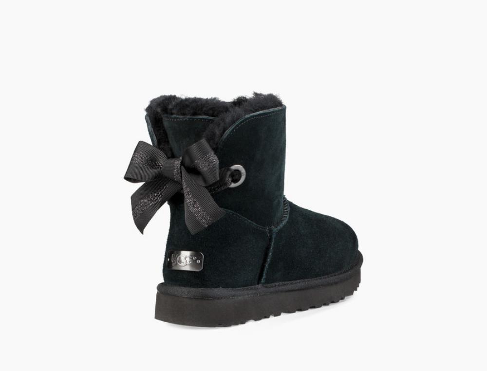 Customizable Bailey Bow Mini Boot Угги - image 4 of 6