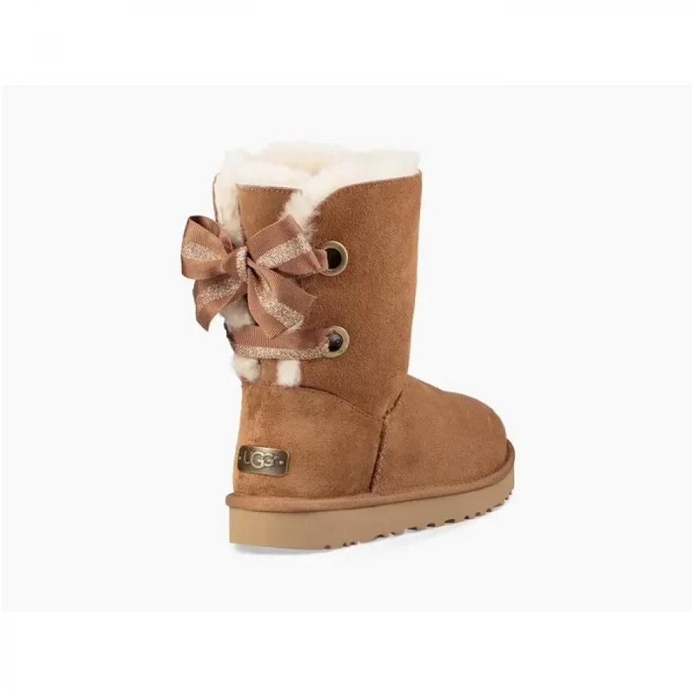 Customizable Bailey Bow Short Boot Угги - image 3 of 6