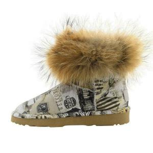 Mini Fox Fur Travel Полусапоги - thumbnail image 4 of 7