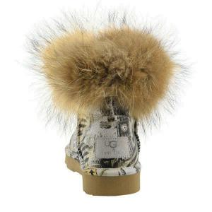 Mini Fox Fur Travel Полусапоги - thumbnail image 3 of 7