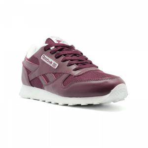 Кроссовки Reebok Classic Leather Bordeux - thumbnail image 1 of 3