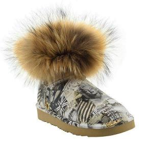 Mini Fox Fur Travel Полусапоги - thumbnail image 2 of 7